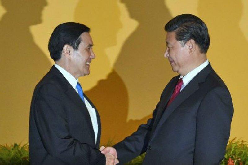 習馬會強調一個中國的共識,但中國能同台灣分享主權嗎? (BBC中文網)