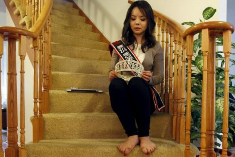 在中國出生的林耶凡是法輪功學員。她在今年7月曾出席美國國會聽證會,批評中國對宗教自由實施壓迫。(BBC中文網)