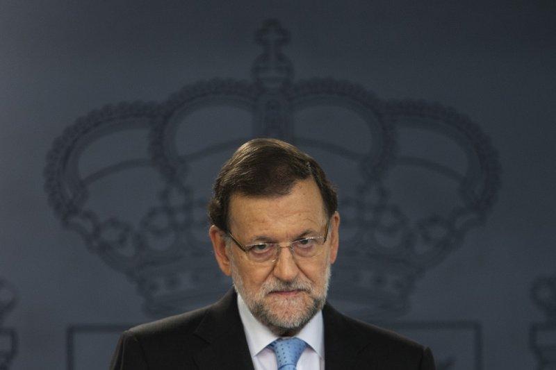 西班牙總理拉霍伊。(美聯社)