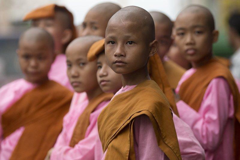 緬甸是一個歷史悠久的佛教國家(美聯社)