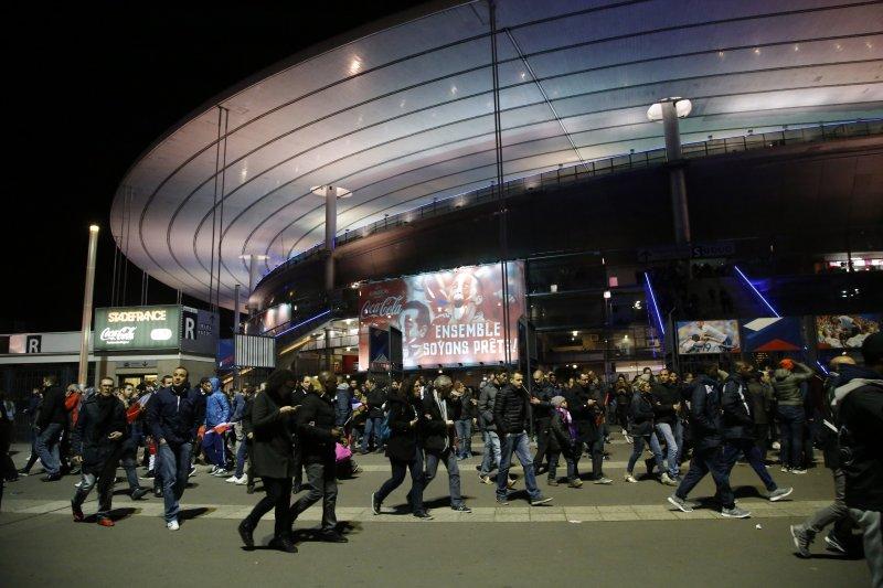 巴黎恐怖攻擊,法國國家體育場(Stade de France)(美聯社)