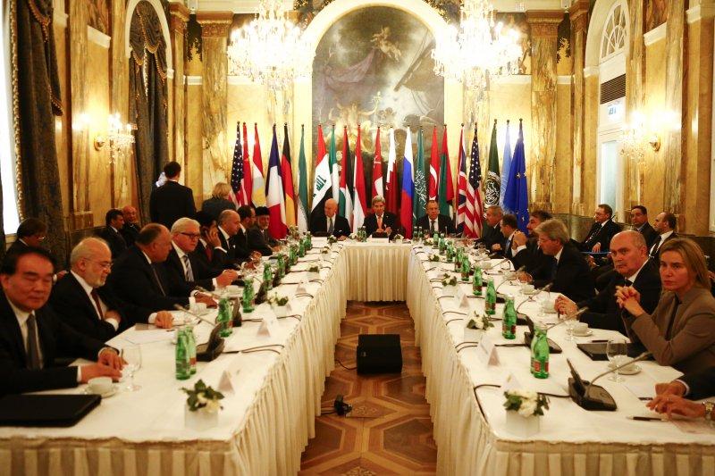 敘利亞問題維也納會議(美聯社)