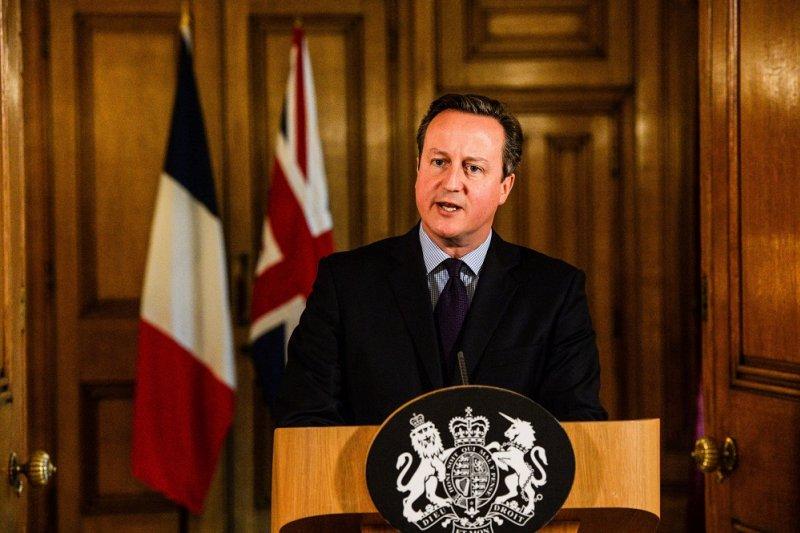 英國首相卡麥隆。(美聯社)