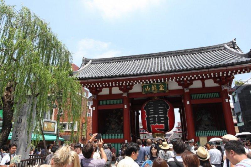 這是觀光名勝-淺草