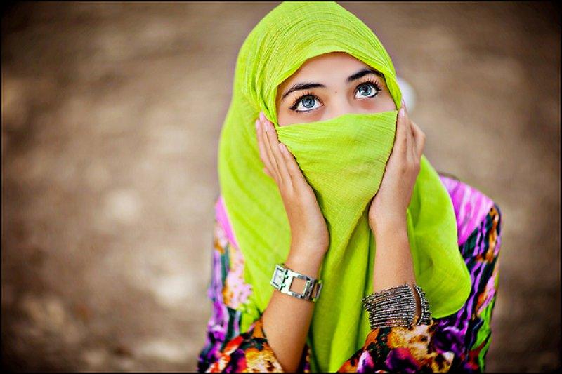 蒙上面紗的伊斯蘭婦女總給人神秘感(圖/HENG FU MING@flickr)
