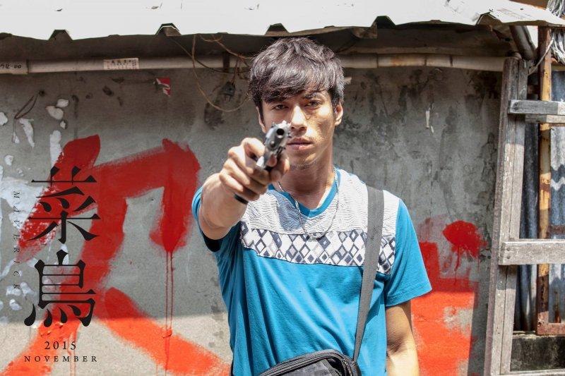 曾入圍金馬獎最佳男配角、演技優異的莊凱勛,在電影《菜鳥》飾演老鳥警察(圖/菜鳥@facebook)