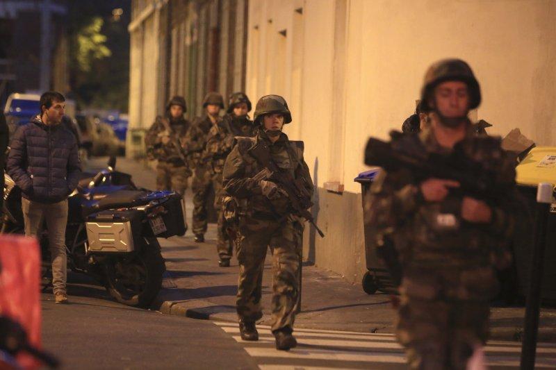 巴黎恐攻,聖但尼。(美聯社)
