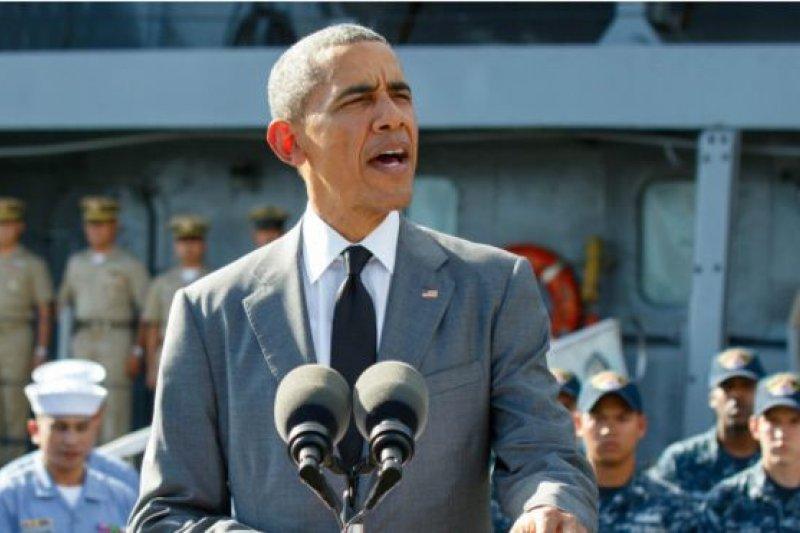 歐巴馬表示,美國將再送贈兩艘艦艇給菲律賓,以提高菲律賓海洋巡邏能力。(BBC中文網)