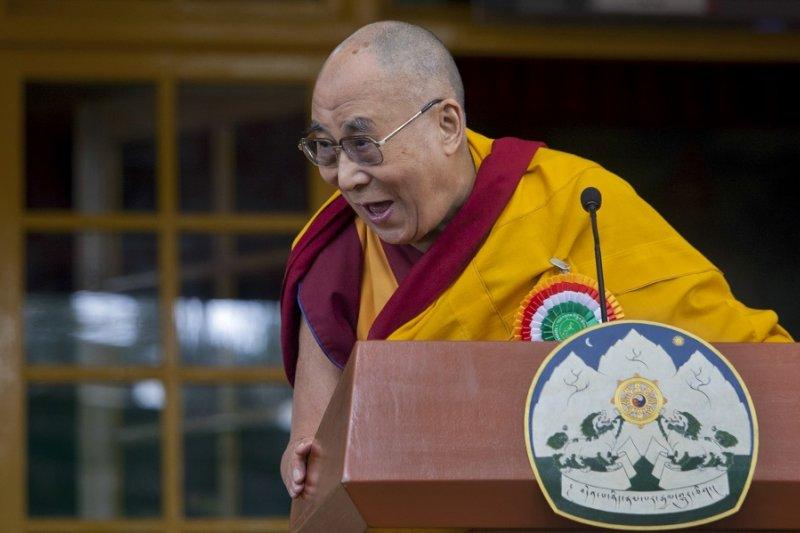 達賴喇嘛11月於達蘭薩拉(美聯社)