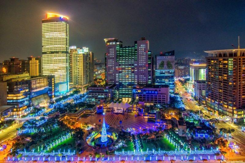 2015新北歡樂耶誕城(圖/新北市政府觀光旅遊局提供)