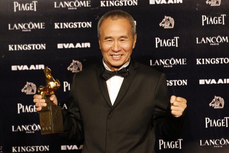 52屆金馬獎侯孝賢獲得年度台灣傑出電影工作者、最佳導演,相隔10年再奪年度台灣傑出電影工作者,開創紀錄成為金馬史上第一人!(美聯社)