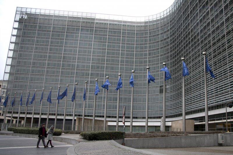 位於布魯塞爾的歐盟總部。(美聯社)