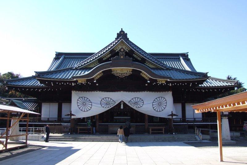 靖國神社。(維基百科)