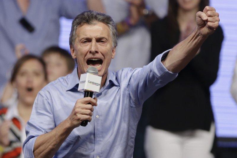 馬克里贏得阿根廷總統大選,將在12月上任(美聯社)