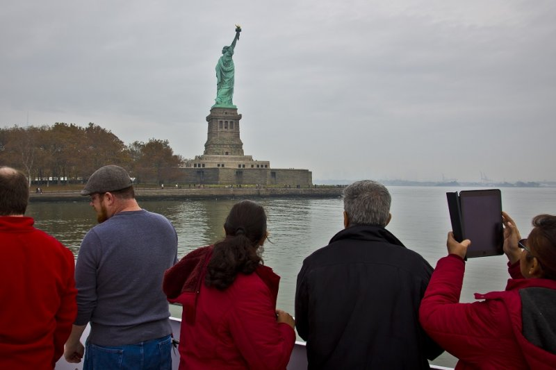 美國自由女神像(美聯社)
