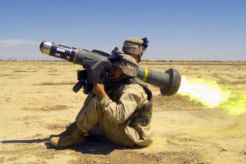美國對台軍售可能包括「標槍」戰防飛彈(維基百科)