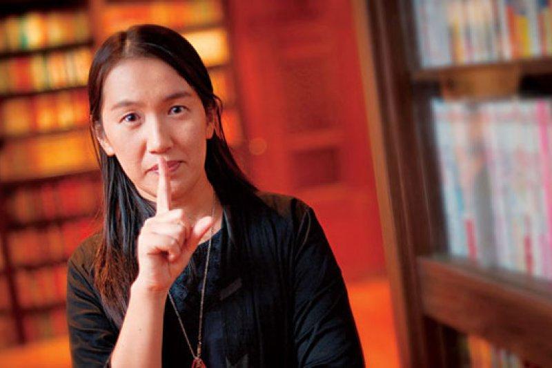 日本主婦作家湊佳苗(攝影者.許世穎)