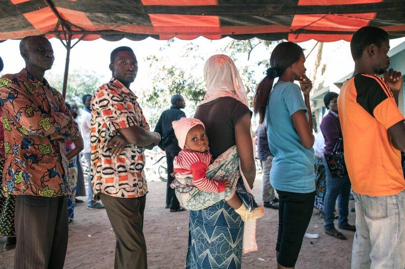 西非國家布吉納法索(Burkina Faso)29日舉行總統和國會選舉(美聯社)