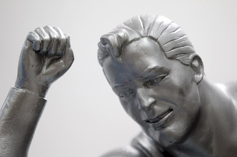 美國克里夫蘭市即將建造「超人」的鋼鐵塑像(美聯社)