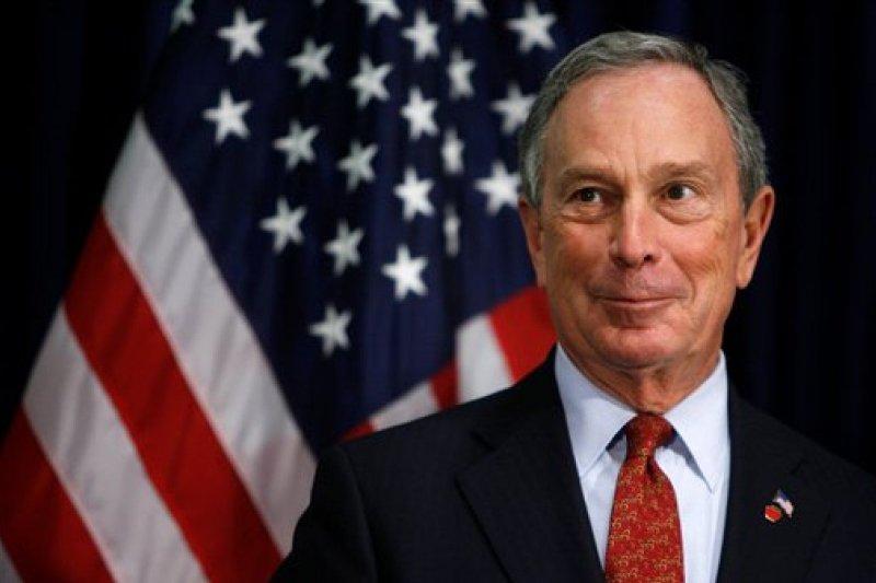 美國前紐約市長彭博(Michael Bloomberg)有意爭取民主黨提名角逐2020年總統大選(美聯社)