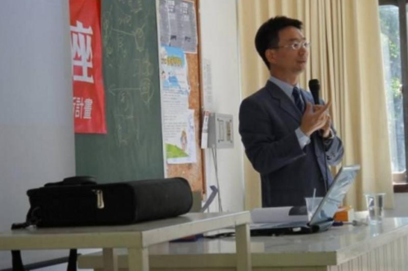 一審判決頂新無罪的吳永梁法官。(東海大學官網)