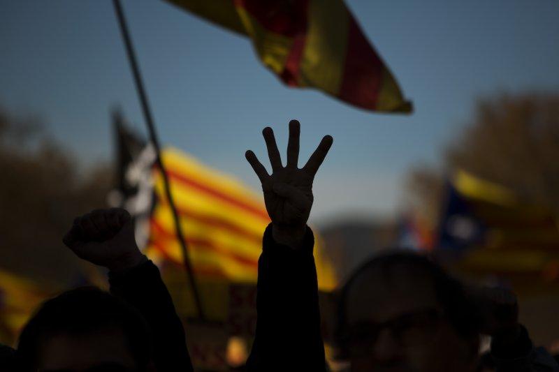 加泰隆尼亞獨立建國之路再度受挫。(美聯社)