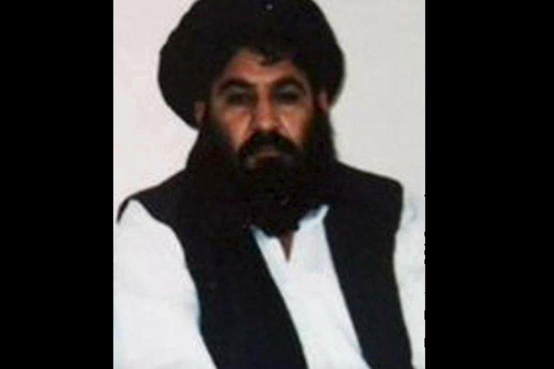 阿富汗極端組織「神學士」(Taliban)領導人曼蘇爾(Mullah Akhtar Mansour)(取自網路)