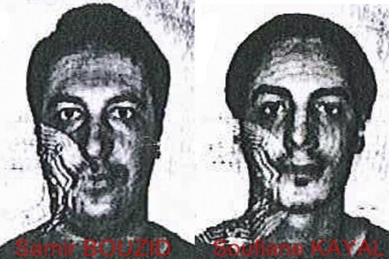 巴黎攻擊2名新嫌犯薩米爾.布齊德(左)與蘇非亞尼.卡耶奧(右)(美聯社)