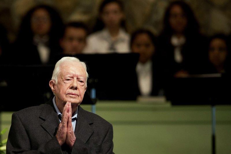 美國前總統卡特(Jimmy Carter)(美聯社)