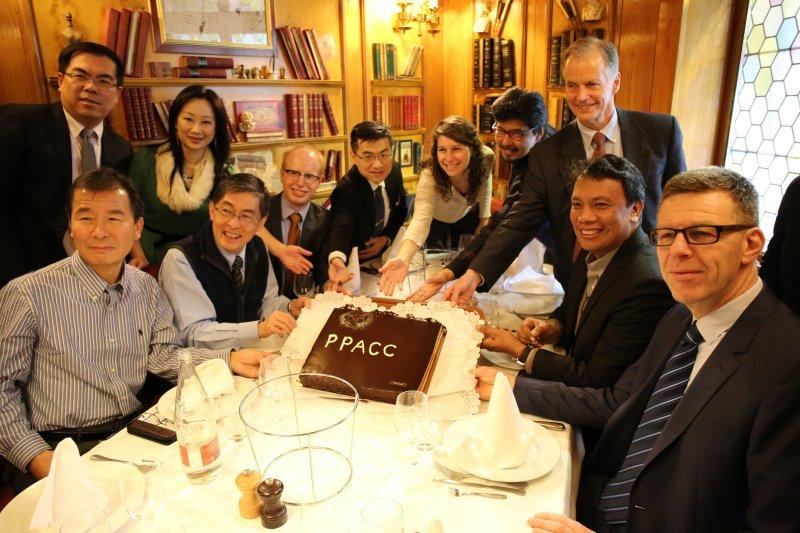「泛太平洋氣候變遷調適夥伴」(Pan Pacific Adaptation on Climate Change, PPACC)成立,並與麻省理工學院集體智慧中心達成合作共識。(取自環保署網站)
