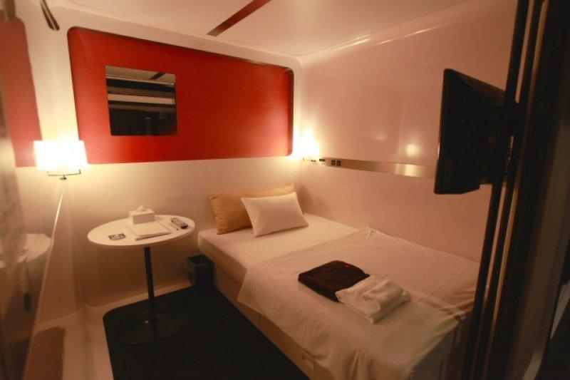 高級奢華的膠囊旅館讓你有意想不到的體驗(照片提供:First Cabin 築地)