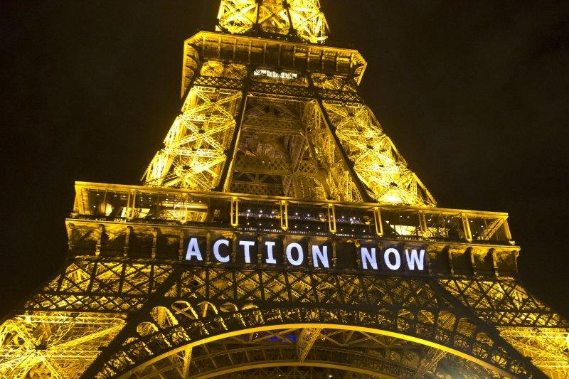 巴黎氣候峰會(美聯社)