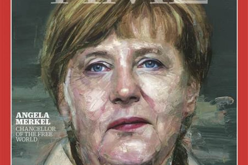 德國總理梅克爾獲選《時代》雜誌2015年年度風雲人物(Time)