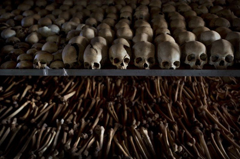 盧安達1994年爆發種族滅絕行動,逾80萬人遭到殺害。(美聯社)