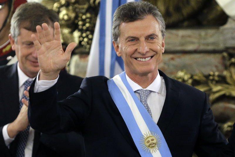 阿根廷新任總統馬克里(美聯社)