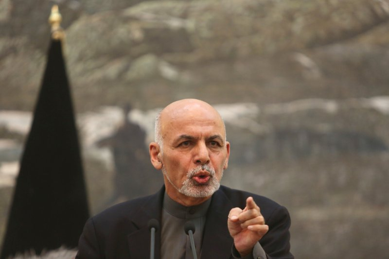 阿富汗總統賈尼(Ashraf Ghani)。(美聯社)
