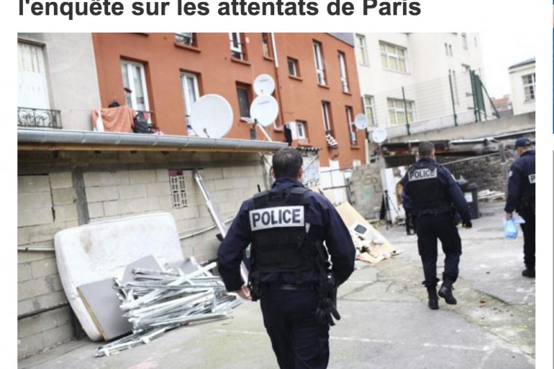 上個月13日發生的法國連環恐攻又有一嫌落網。