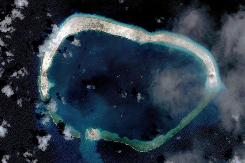 美濟礁(2015/03)(BBC中文網)