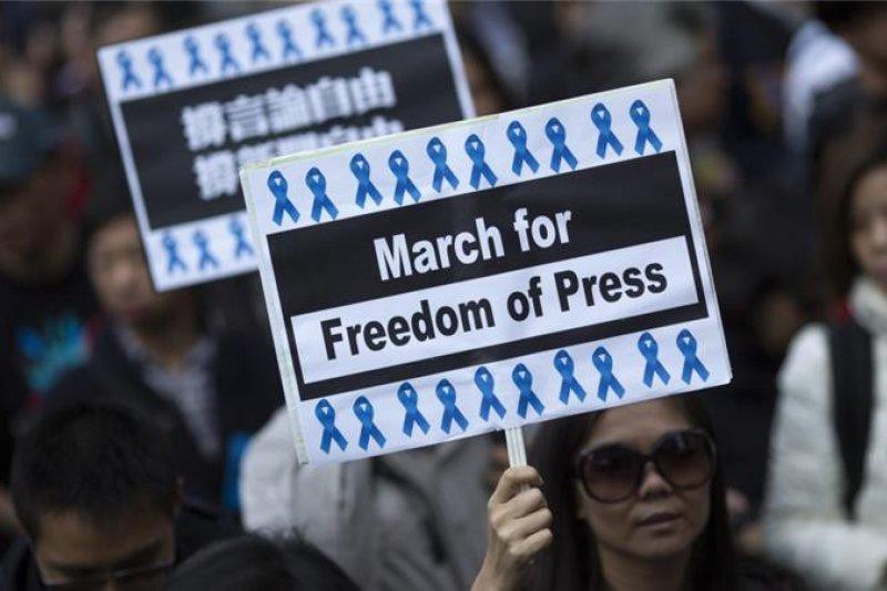 國際調查報導顯示,監禁記者人數前三名國家為中國、埃及與伊朗,儼然成為「記者監獄」。