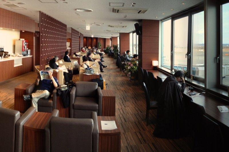 這樣豪華的候機室,在日本哪座機場呢?(圖/MIKIYoshihito@flickr)