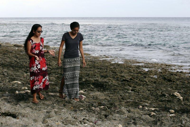 馬紹爾群島的7萬島民,會不會淪為全球氣候變遷的災民?(美聯社)