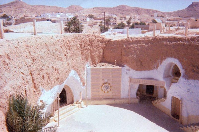Hotel Sidi Driss Matmata Tunisia 星際大戰拍攝地點
