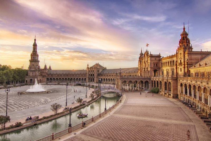 Plaza de Espana, Seville, Spain 星際大戰拍攝地點
