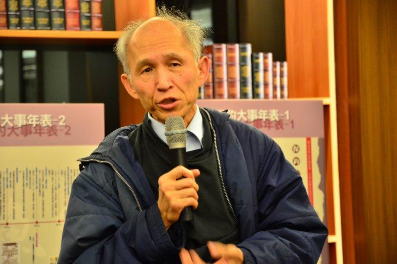 曾參與保釣運動、《科學月刊》創辦人林孝信(世新大學)