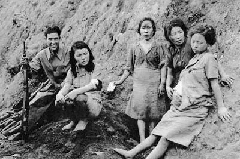 從韓國徵召的慰安婦。(慰安婦問題與亞洲女性基金數位紀念館)