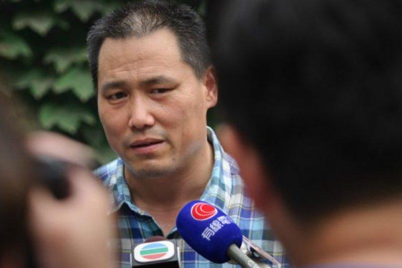 浦志強曾是1989年天安門學運的示威者。(BBC中文網)