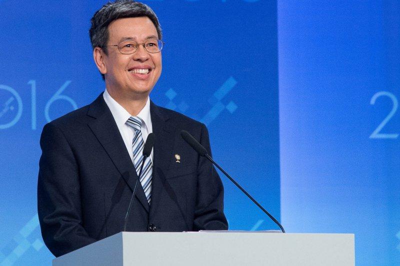 2016副總統候選人電視辯論會26日下午舉行,陳建仁(主辦單位)
