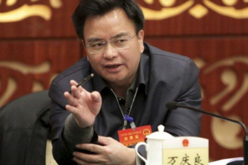2011年的廣東省兩會上,萬慶良稱自己每月交房租600元。(BBC中文網)