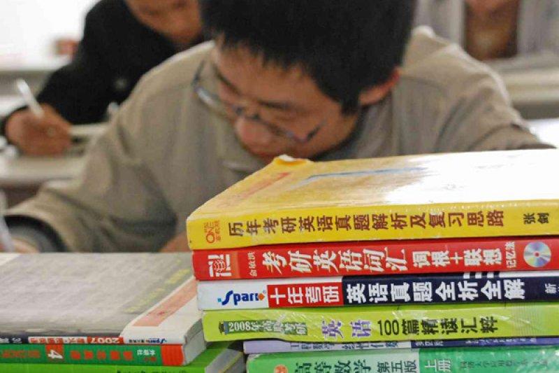 中國碩士研究生招生考試26日開考,今年共177萬人報考。(翻攝網路)