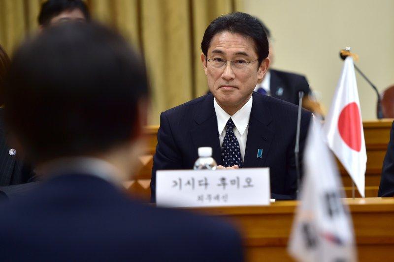 日本外務大臣岸田文雄。(美聯社)